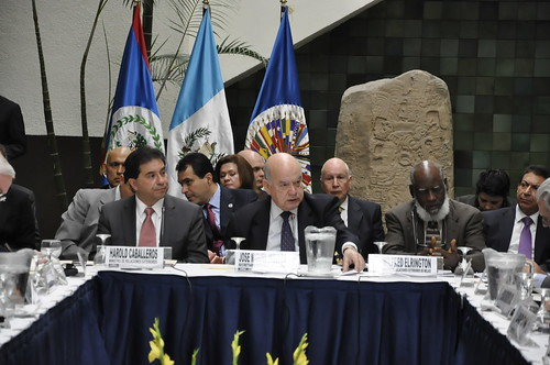 OAS Secretary General Participates in Belize-Guatemala Meeting
