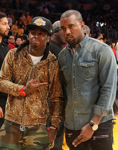 lil-wayne-and-kanye-west-lakers-game