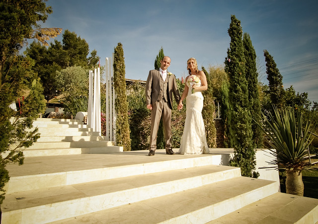 Amy & Dean by Ibiza Photography