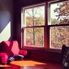 Day 22: The View From Here... my reading nook window seat. #fmsphotoaday