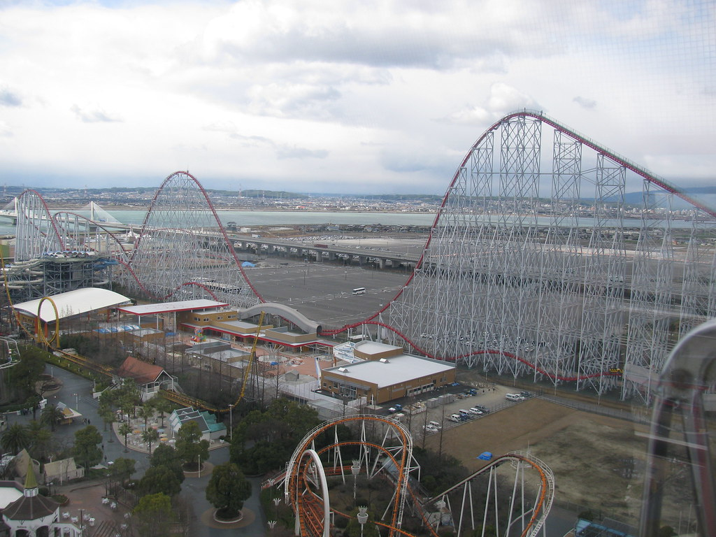 Steel Dragon 2000 at Nagashima Spaland, Japan