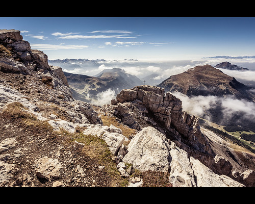 italien landschaft dolomiten latemar tesero trentinosüdtirol