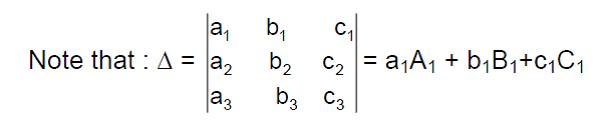 Determinants - Basic Concepts