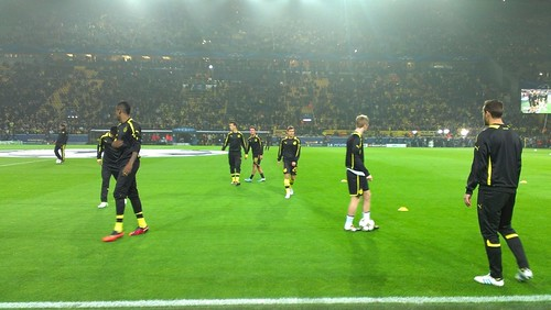 Borussia Dortmund gegen Real Madrid