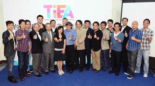 圖一、台灣網路暨電子商務產業發展協會(Taiwan Internet E-Commerce Association,TIEA)第一屆會員大會昨(24)順利落幕,選出TIEA第一屆理監事代表。