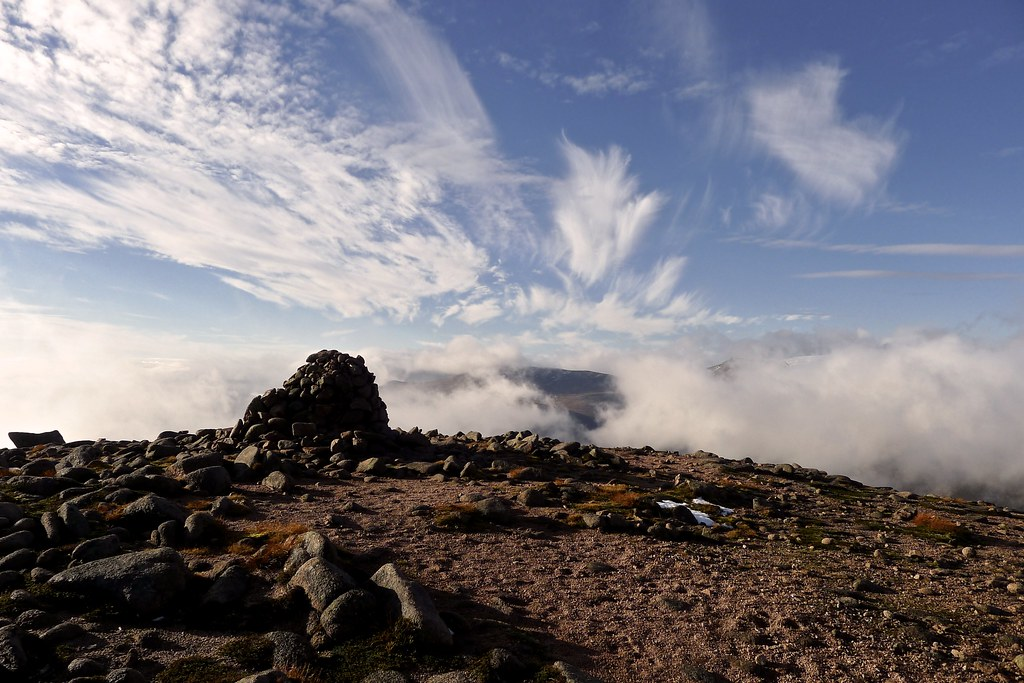 Summit of Beinn a' Chaorainn