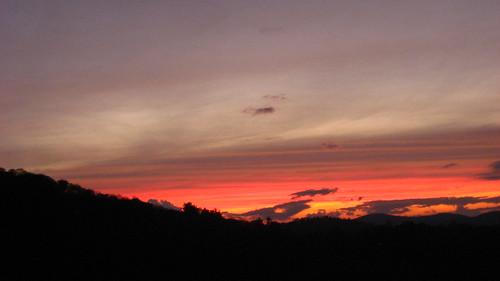 sunset us starwars nc highlands colorful wnc sunsetrock