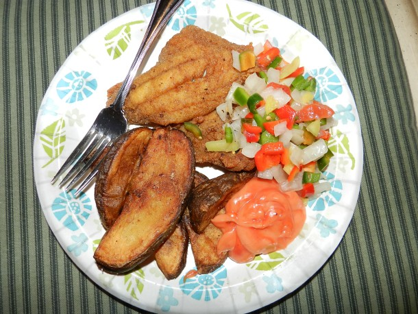 Fried Fish Platter