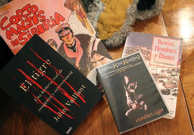 GASTRONOMÍA & LITERATURA: COMIDA MARIDAJE LITERATURA & SIBERIA