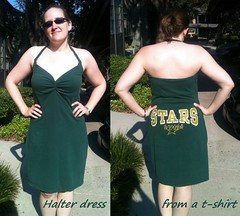 TShirt Halter Dress