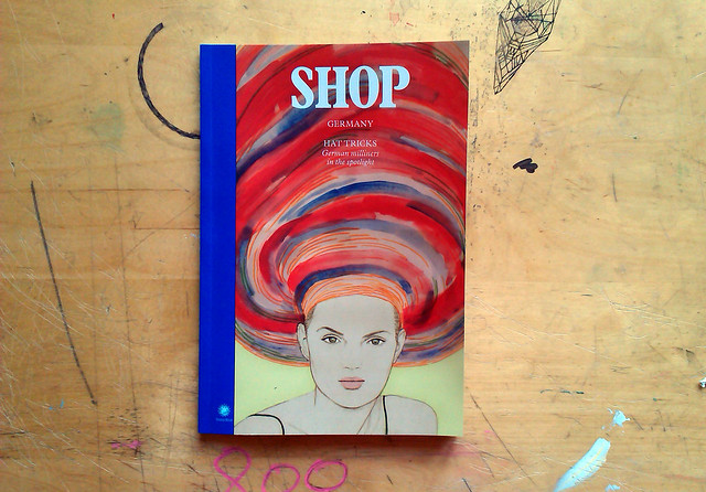 my illustration on the cover of SHOP Germany