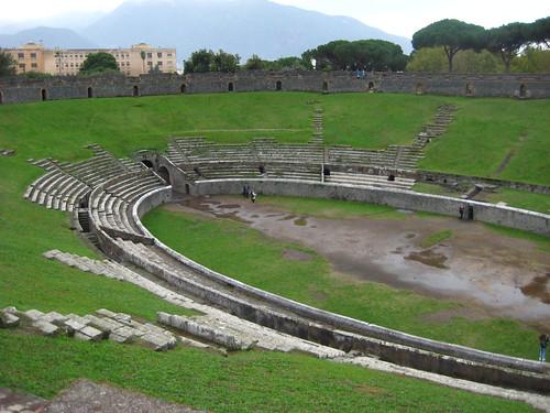 Amphitheater, Pompei
