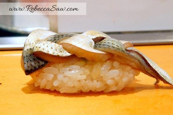 Tsukiji market - sushi dai - best sushi-043