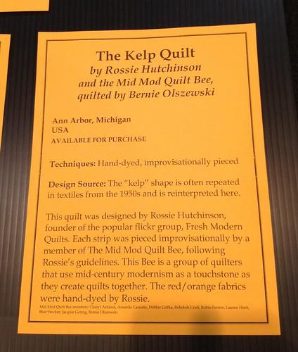 Kelp Quilt Credits