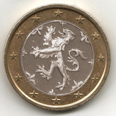 Scottish euro coin