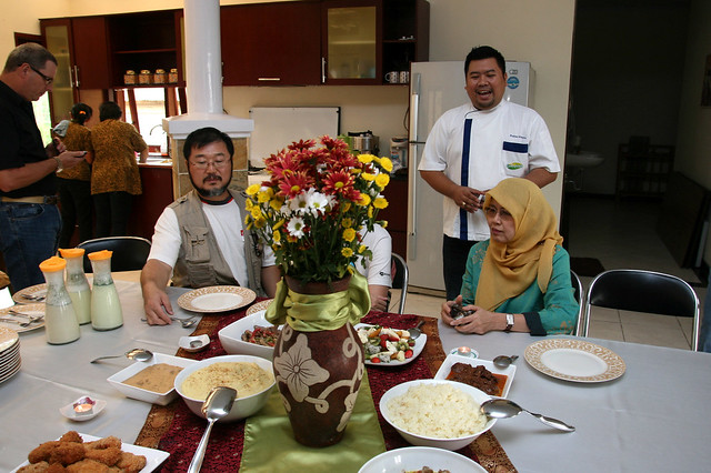 After the tour, we were treated to Chef Fahmi's creations featuring Greenfields products