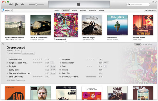 iTunes 11 es retrasado.
