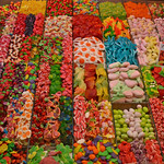 Image of Mercat de Sant Josep - La Boqueria. barcelona spain candy market espana mercato boqueria barcellona spagna dolci laboqueria rambla mercat liceu caramelle mercatdesantjosep