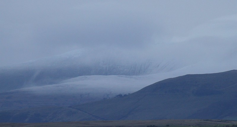 pen y fan snow 1st november 2012