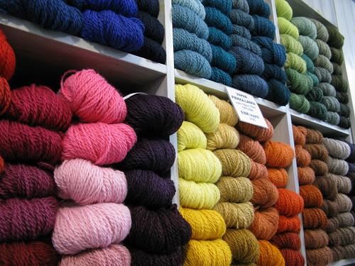 Yarn shops