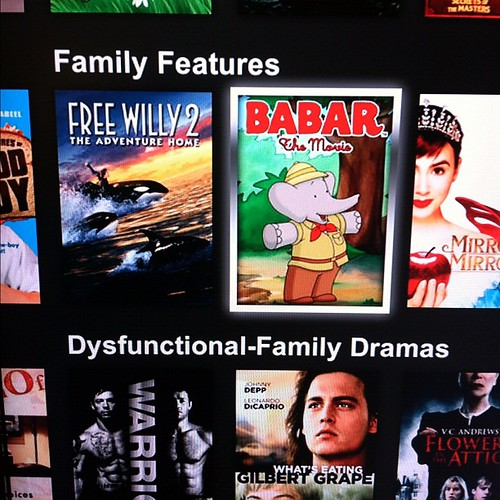 Thank you Netflix for having such well rounded categories.