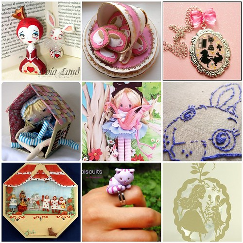 Friday Funspiration: Handmade Alice