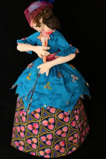Counting Down the Days Cloth Doll