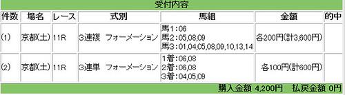 121103_京都11R馬券