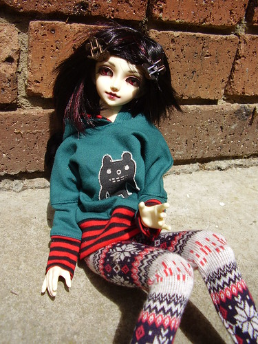 [Big Doll Day] Marin outside 9