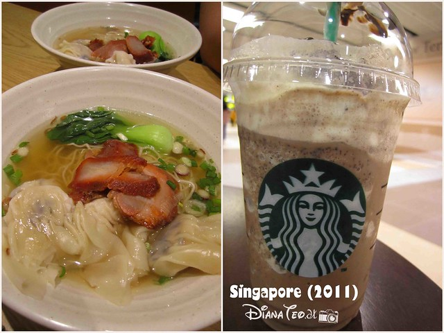 Day 4 Singapore - Foods in Changi International Airport