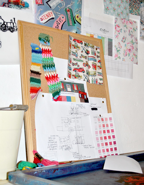 Cath Kidston's office plans