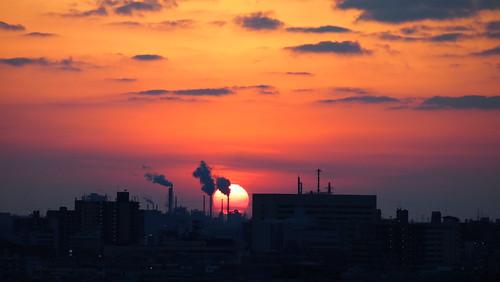 あの日の夕焼け20130106 No.2