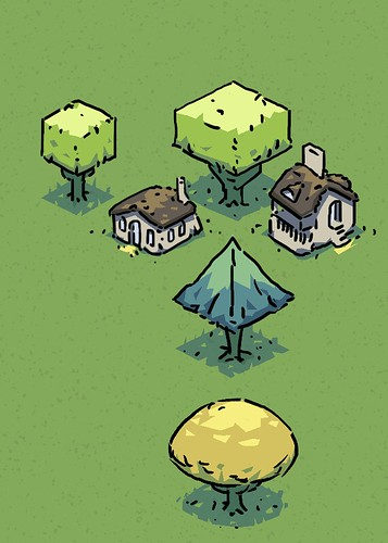 Trees and Houses