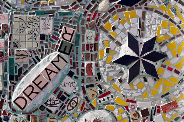 Isaiah Zagar mosaic, Philadelphia