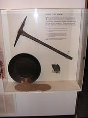 Emigrant Gold Panning Exhibit
