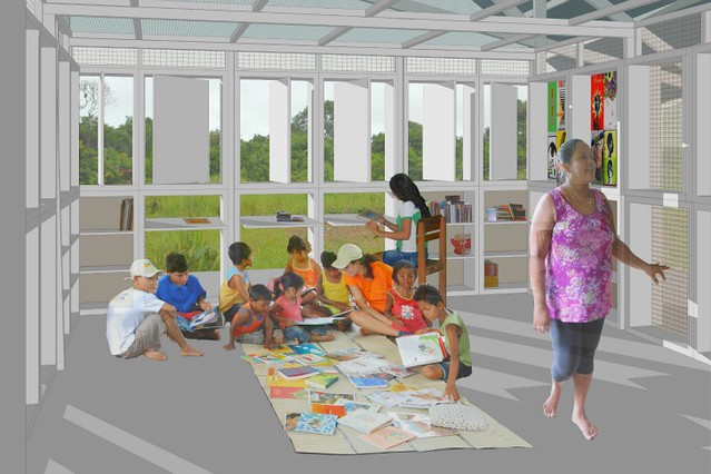 biblioteca amazonas