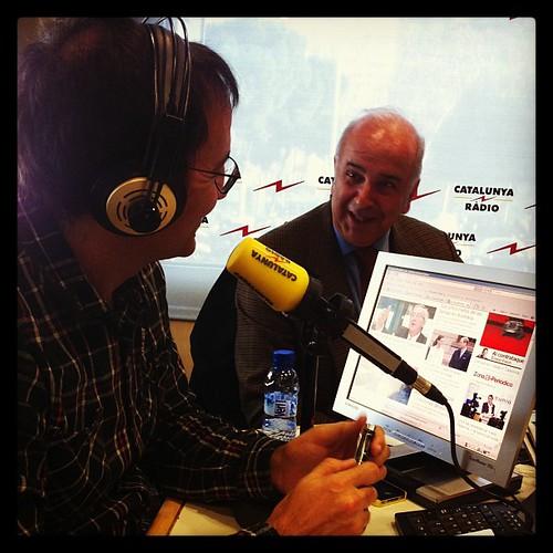 L'oracle de Catalunya Ràdio amb Xavier Graset #Barcelona #media #Catalunya #periodisme