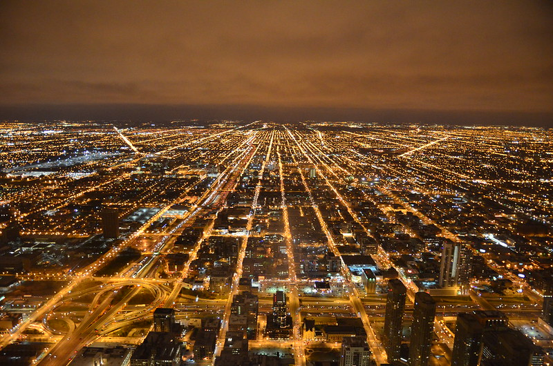 North Chicago from Willis Tower