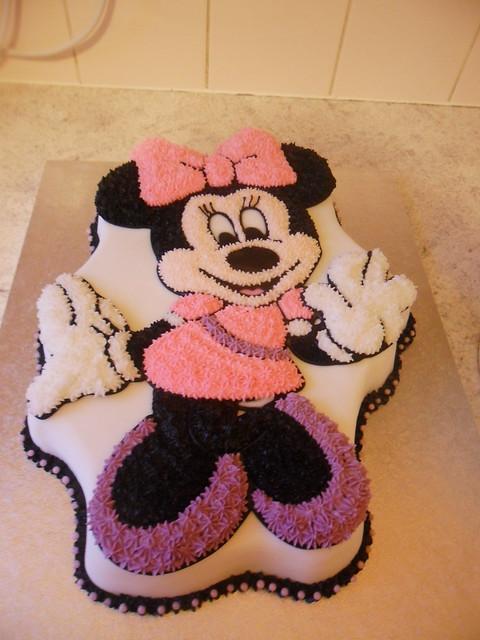 Walt Disney Minnie Mouse 2nd Birthday Cake A Photo On