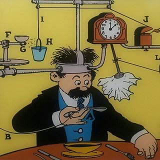 I love Rube Goldberg
