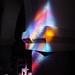 Les reflets du vitrail, église St Eloi, Andernos-les-Bains, Gironde, Aquitaine, France ©byb64