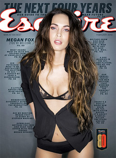 Megan Fox on the cover of Esquire
