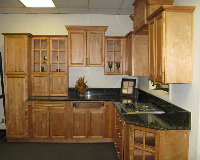 Mocha kitchen cabinets flickr photo sharing - Lily ann cabinets ...