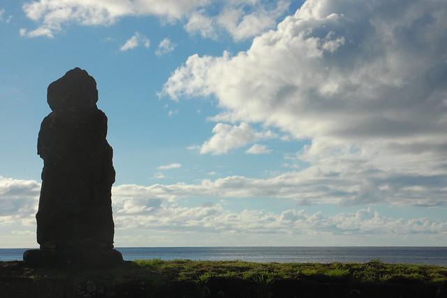 Ahu/Moai in Hanga Roa