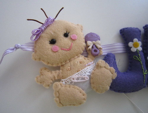 ♥♥♥ Bebé para a Jade... by sweetfelt \ ideias em feltro
