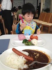 レストランでお昼御飯です 2013/1/20