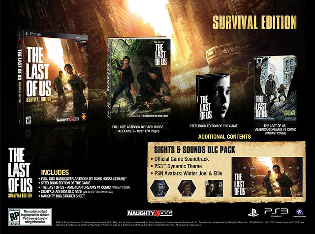 The Last of Us: Survival Edition for PS3