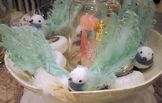 Feather birds @Gronbergs Interior