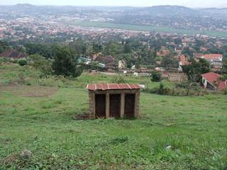 Abandoned toilets Kampala