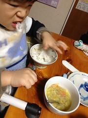 晩御飯 2013/1/26